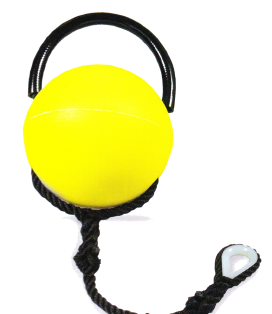 Rigid buoys with handle PKB-2