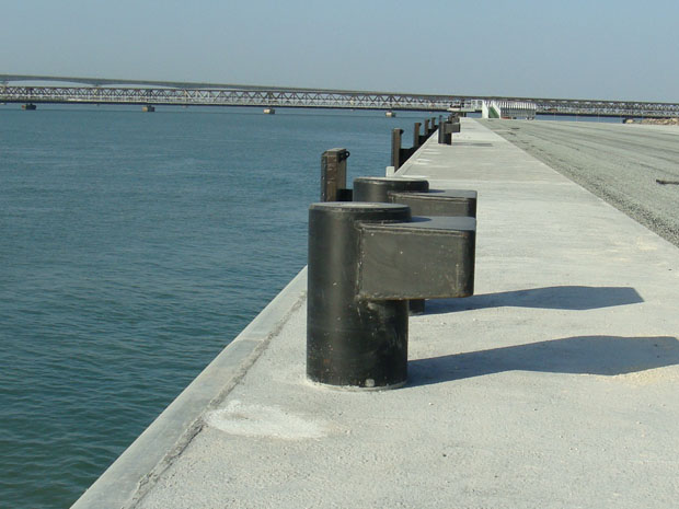 Machine welded bollard
